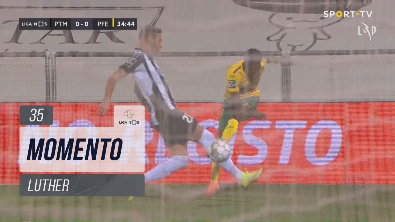 FC P.Ferreira, Jogada, Luther aos 35'