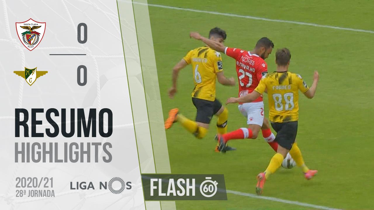 I Liga (28ªJ): Resumo Flash Santa Clara 0-0 Moreirense FC