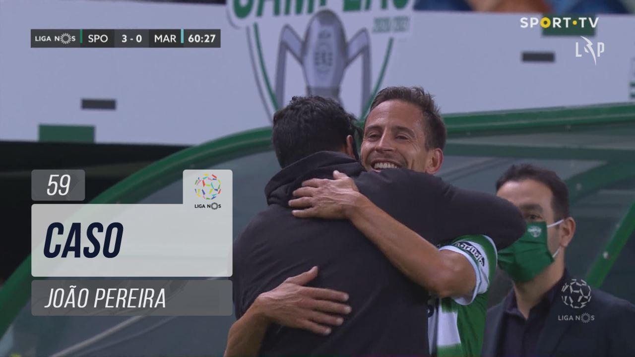 Sporting CP, Caso, João Pereira aos 59'
