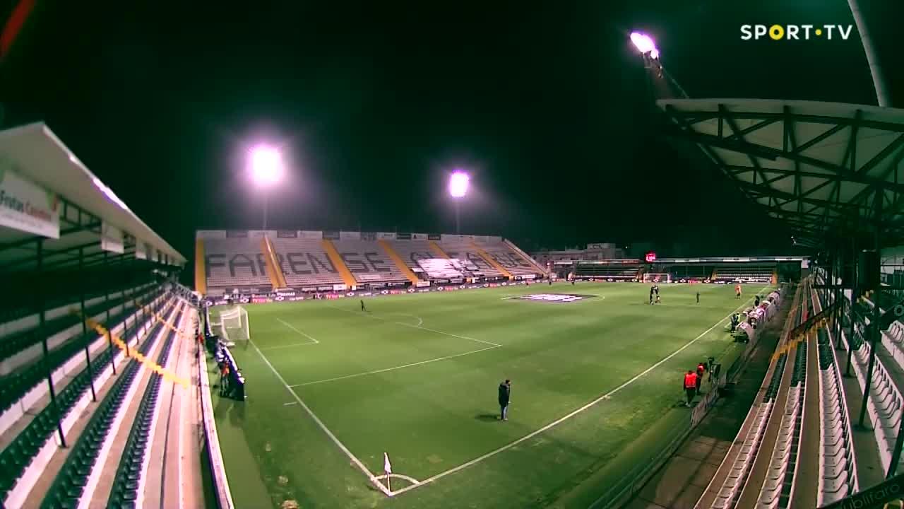 SC Farense x FC Porto: Confere aqui a constituição das equipas!