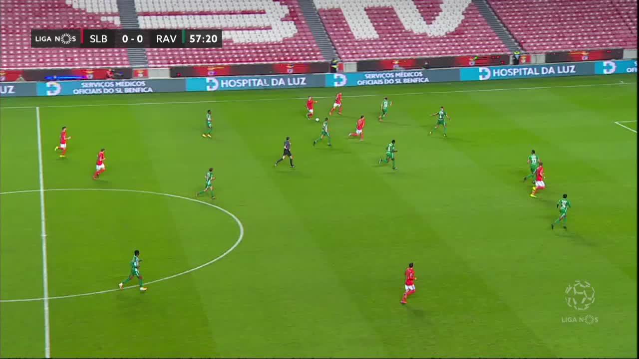 SL Benfica, Jogada, Waldschmidt aos 58'