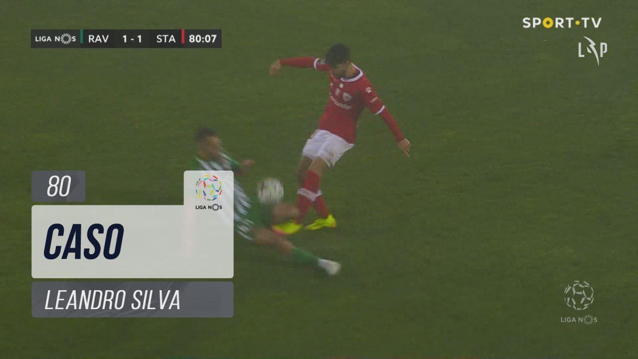 Rio Ave FC, Caso, Leandro Silva aos 80'