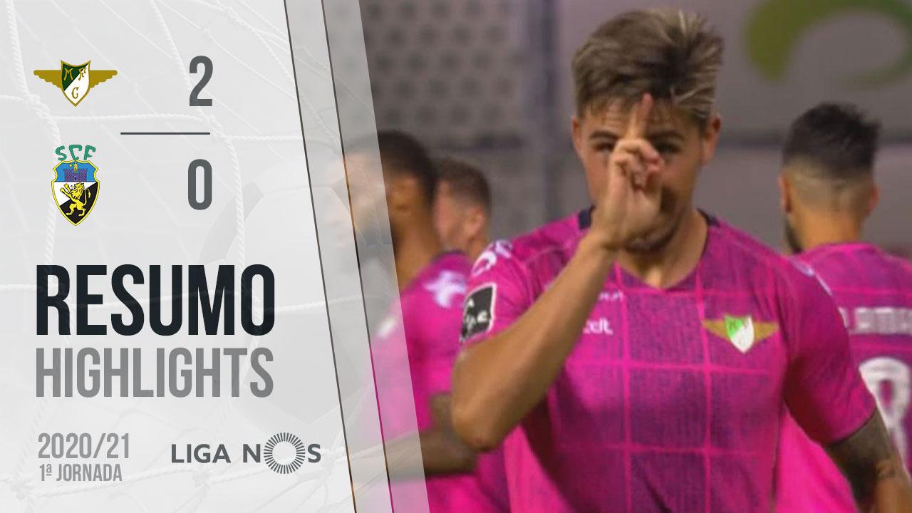 Liga NOS (1ªJ): Resumo Moreirense FC 2-0 SC Farense
