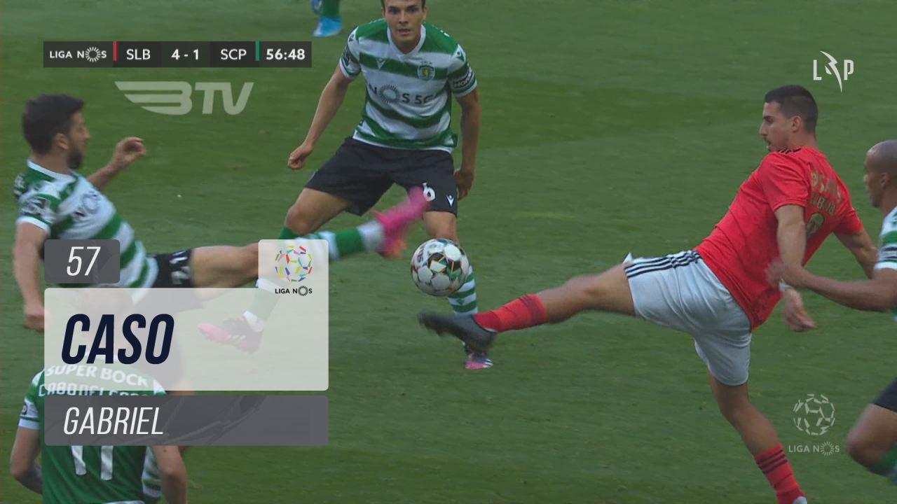 SL Benfica, Caso, Gabriel aos 57'
