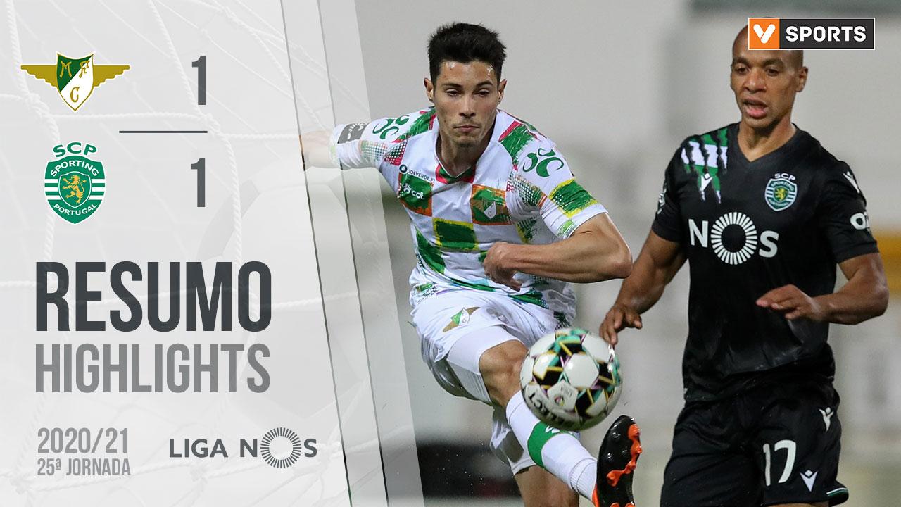 Liga NOS (25ªJ): Resumo Moreirense FC 1-1 Sporting CP