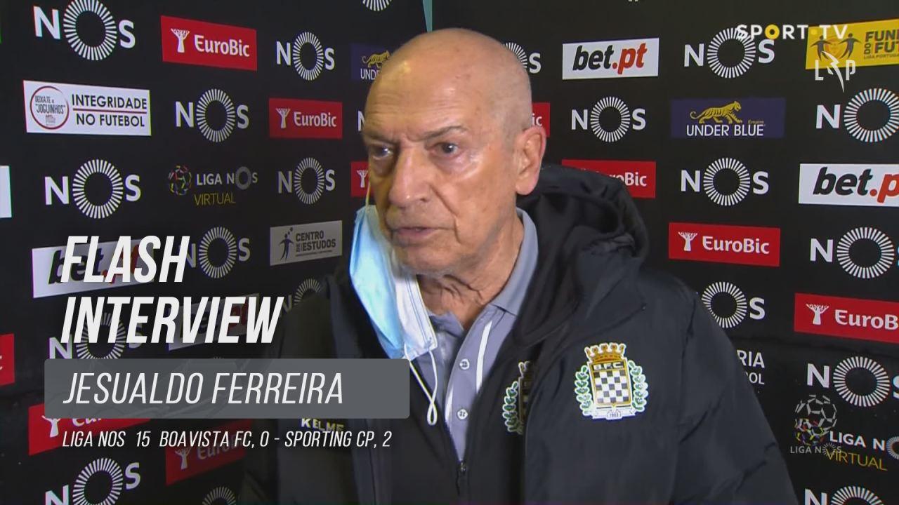 """Jesualdo Ferreira: """"Sporting fez um golo por 10 centímetros"""""""