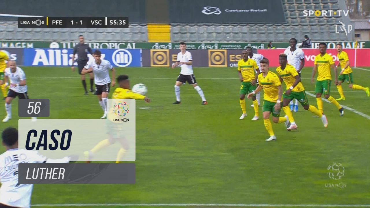 FC P.Ferreira, Caso, Luther aos 56'
