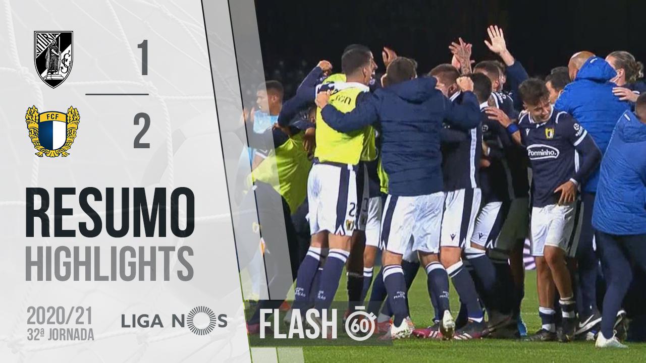 I Liga (32ªJ): Resumo Flash Vitória SC 1-2 FC Famalicão