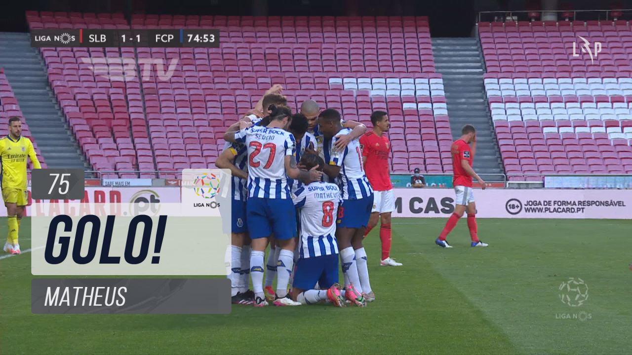 GOLO! FC Porto, Matheus aos 75', SL Benfica 1-1 FC...