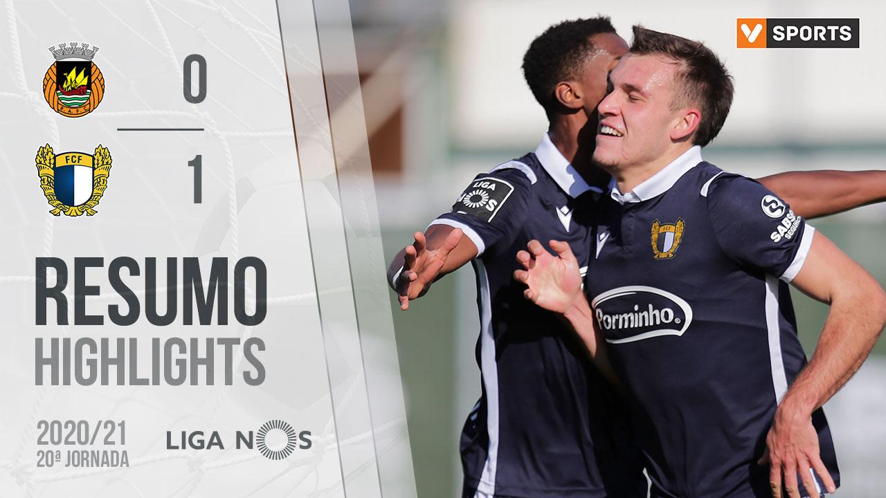 Liga NOS (20ªJ): Resumo Rio Ave FC 0-1 FC Famalicão