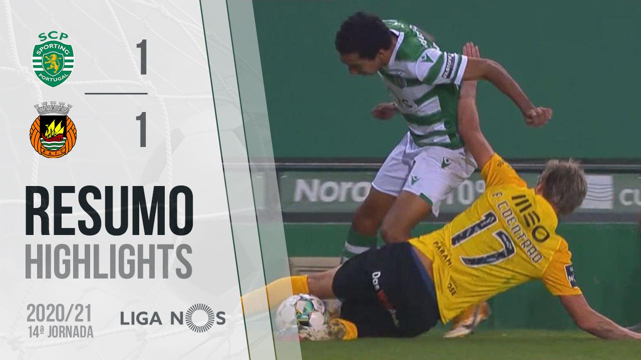 Liga NOS (14ªJ): Resumo Sporting CP 1-1 Rio Ave FC