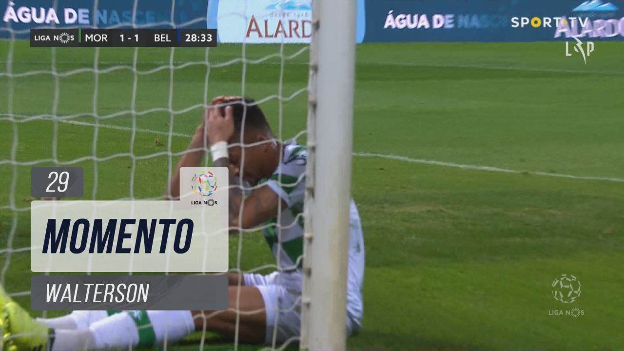 Moreirense FC, Jogada, Walterson aos 29'