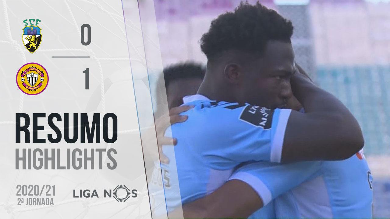 Liga NOS (2ªJ): Resumo SC Farense 0-1 CD Nacional
