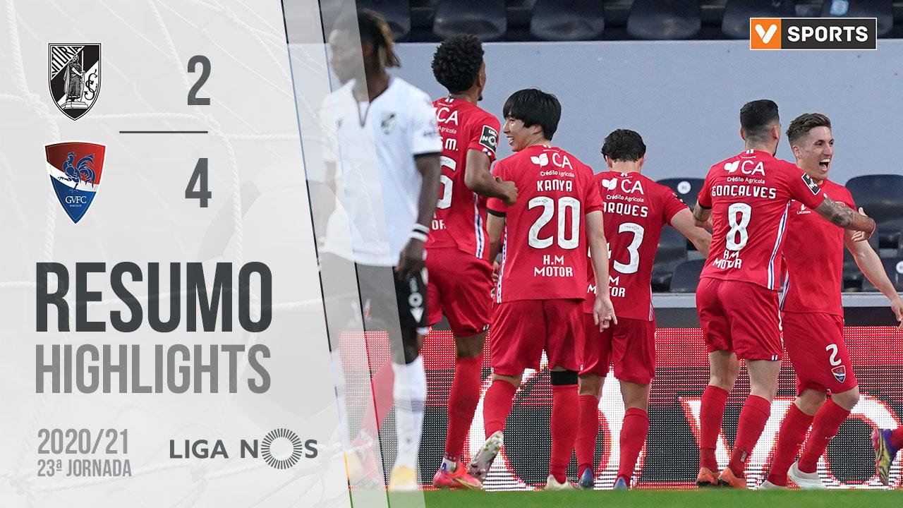 Liga NOS (23ªJ): Resumo Vitória SC 2-4 Gil Vicente FC