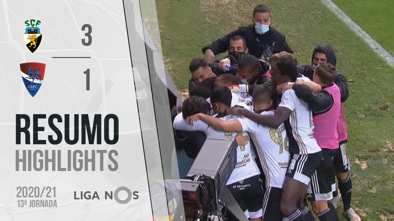 Liga NOS (13ªJ): Resumo SC Farense 3-1 Gil Vicente FC