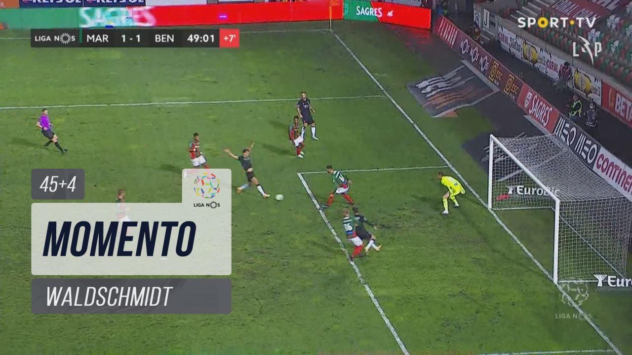 SL Benfica, Jogada, Waldschmidt aos 45'+4'