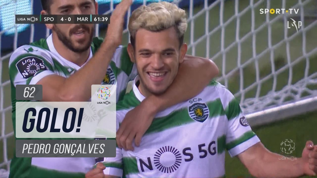 GOLO! Sporting CP, Pedro Gonçalves aos 62', Sporting CP 4-0 Marítimo M.