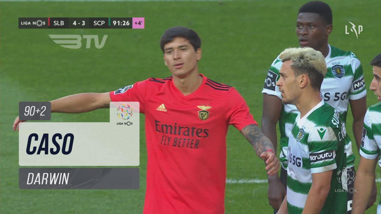SL Benfica, Caso, Darwin aos 90'+2'