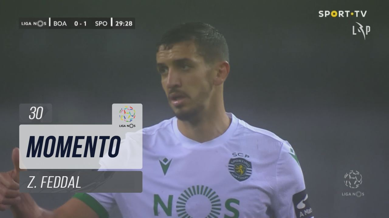 Sporting CP, Jogada, Z. Feddal aos 30'