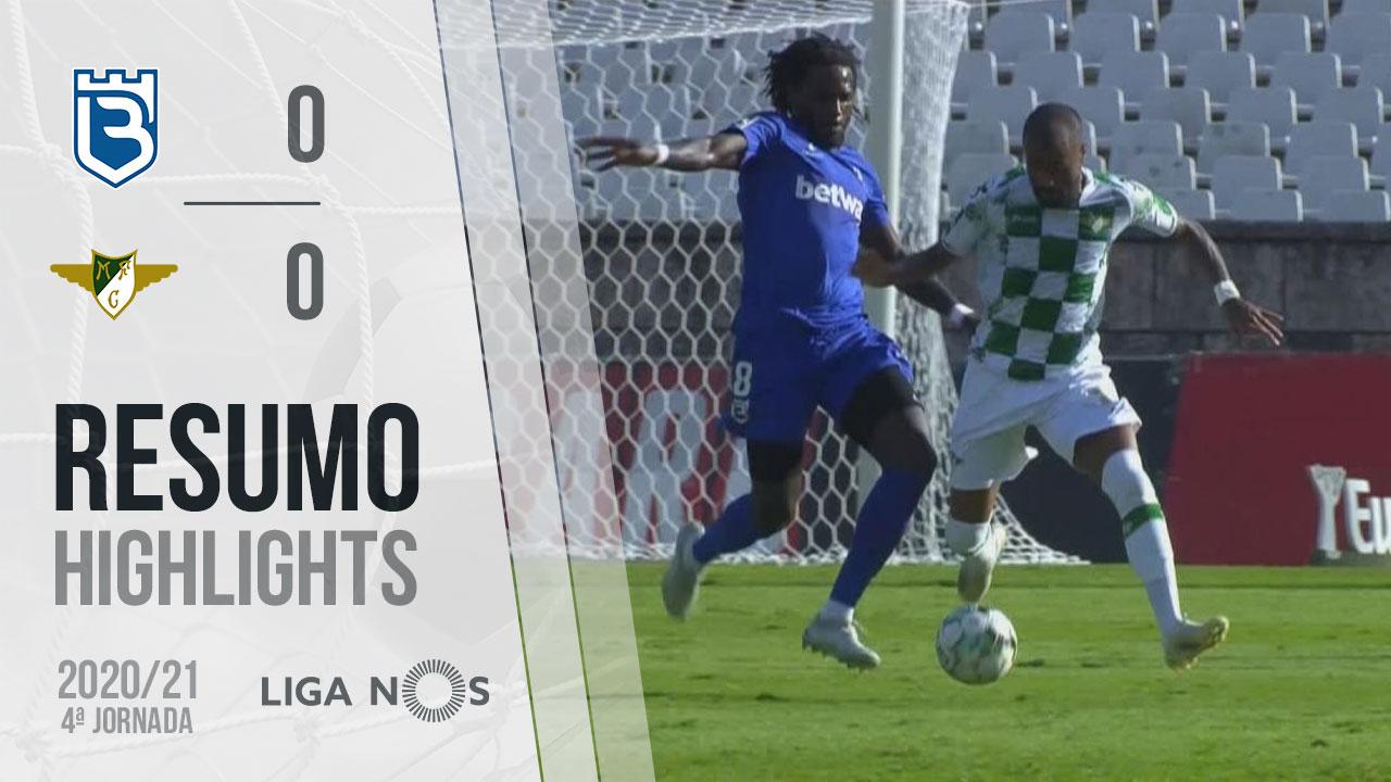 Liga NOS (4ªJ): Resumo Belenenses SAD 0-0 Moreirense FC