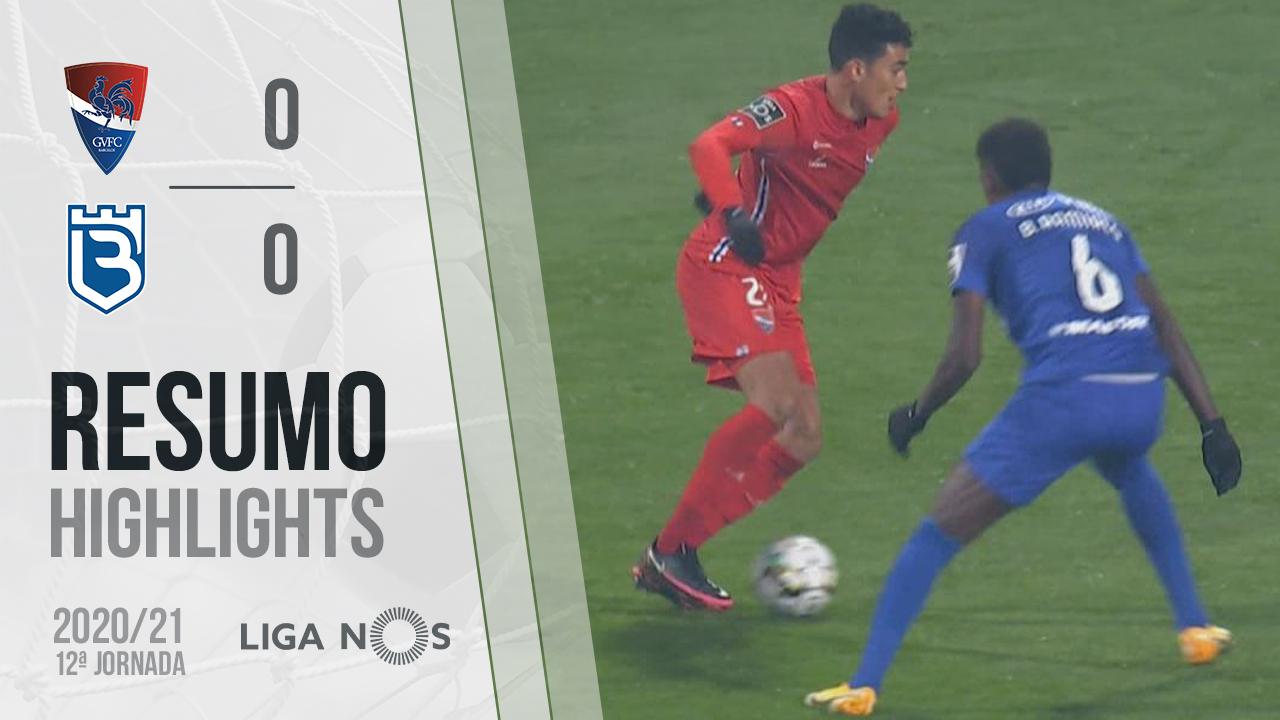 Liga NOS (12ªJ): Resumo Gil Vicente FC 0-0 Belenenses SAD