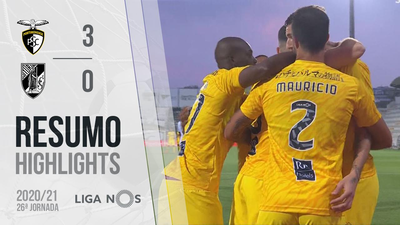 Liga NOS (26ªJ): Resumo Portimonense 3-0 Vitória SC