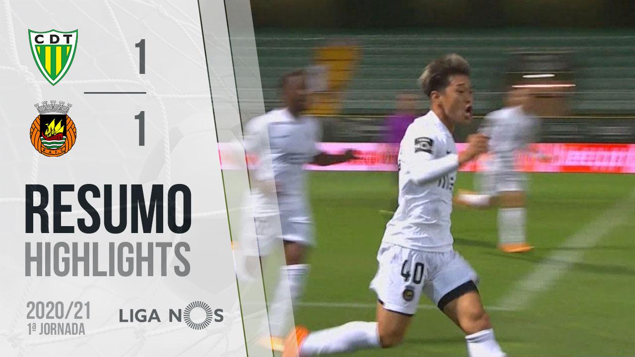 Liga NOS (1ªJ): Resumo CD Tondela 1-1 Rio Ave FC