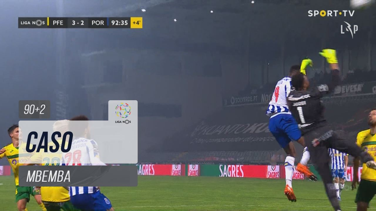 FC Porto, Caso, Mbemba aos 90'+2'