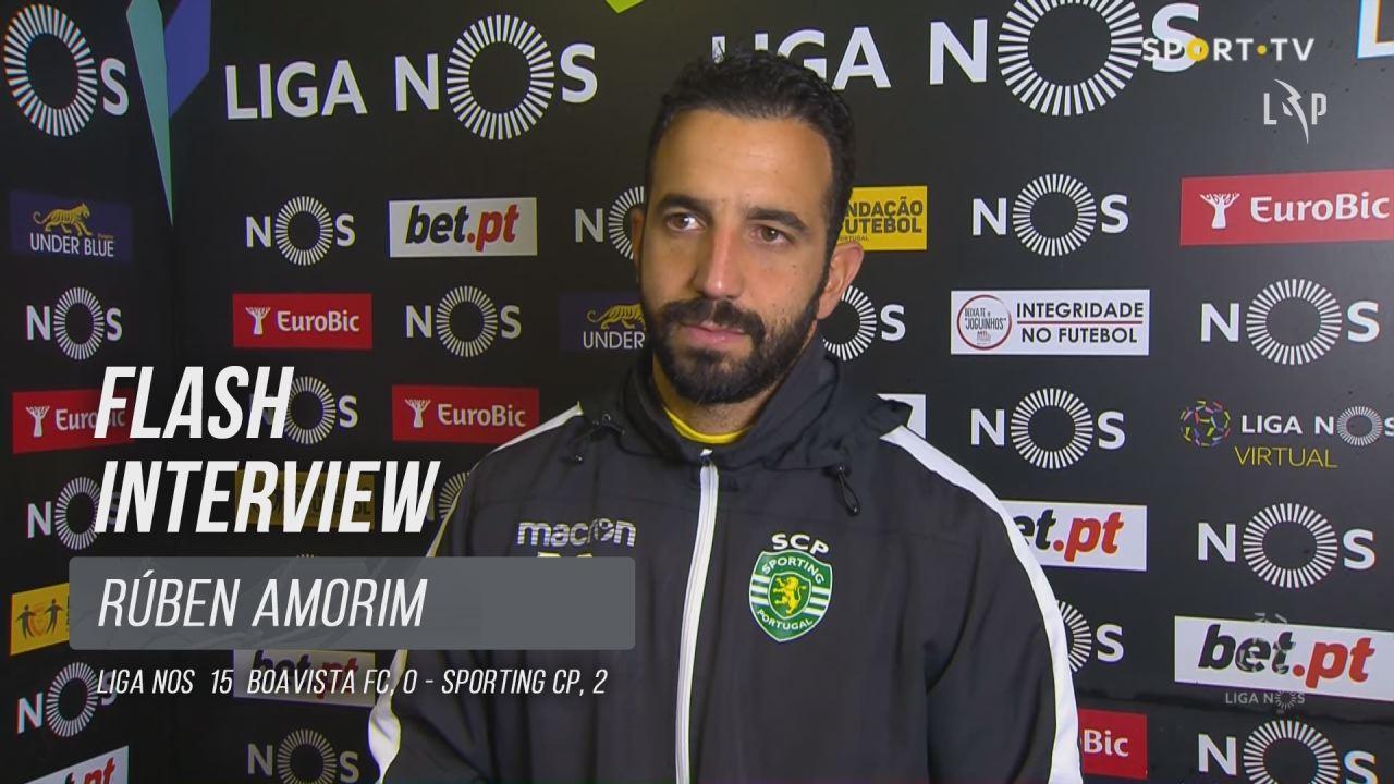 """Rúben Amorim: """"A partir do golo tornou-se tudo mais fácil"""""""