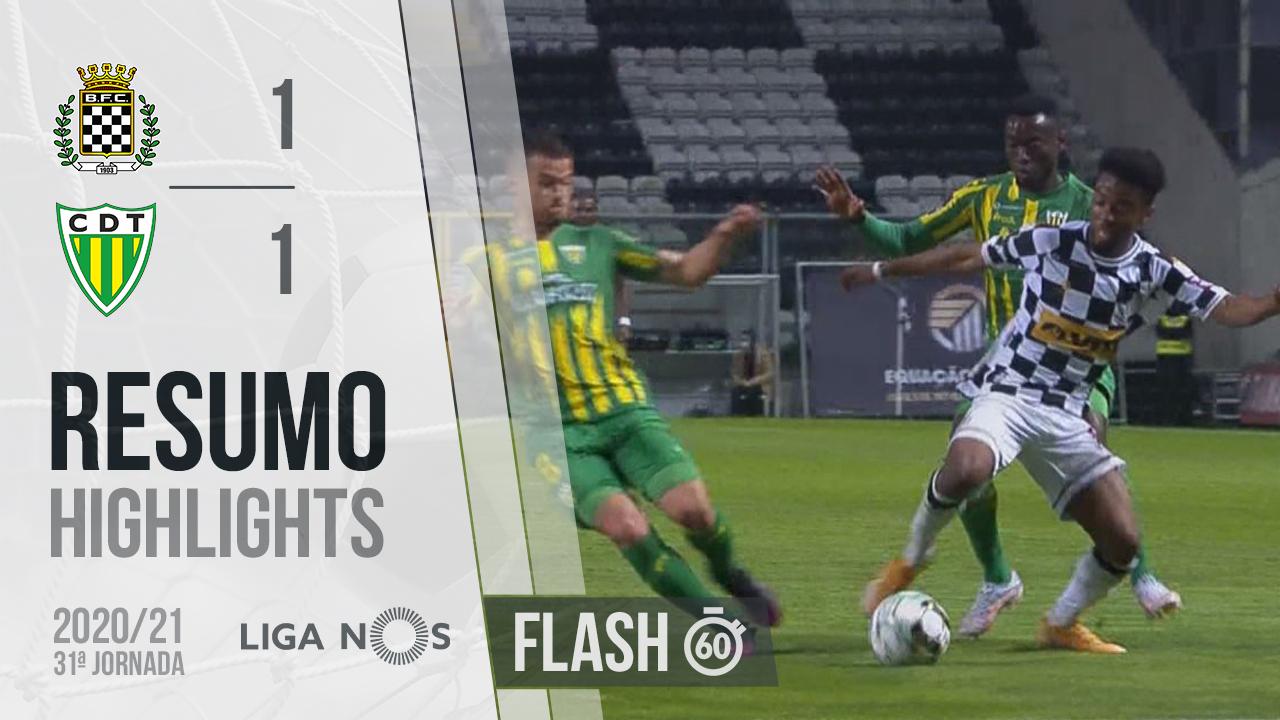 I Liga (31ªJ): Resumo Flash Boavista FC 1-1 CD Tondela