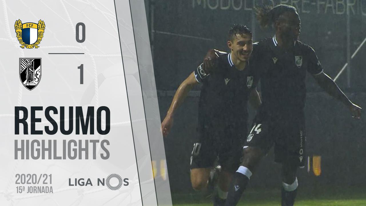 Liga NOS (15ªJ): Resumo FC Famalicão 0-1 Vitória SC