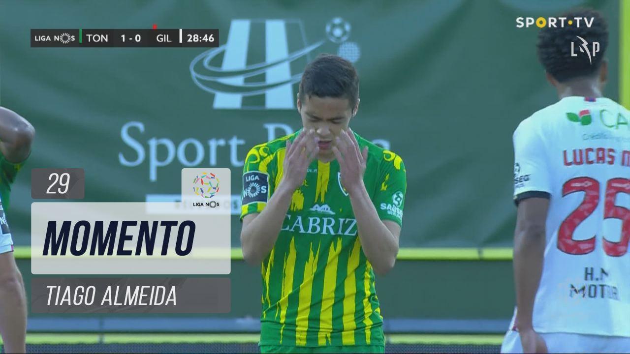 CD Tondela, Jogada, Tiago Almeida aos 29'