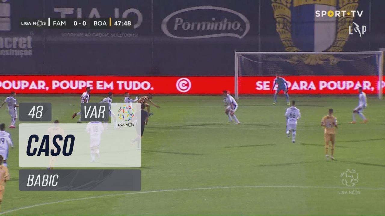 FC Famalicão, Caso, Babic aos 48'