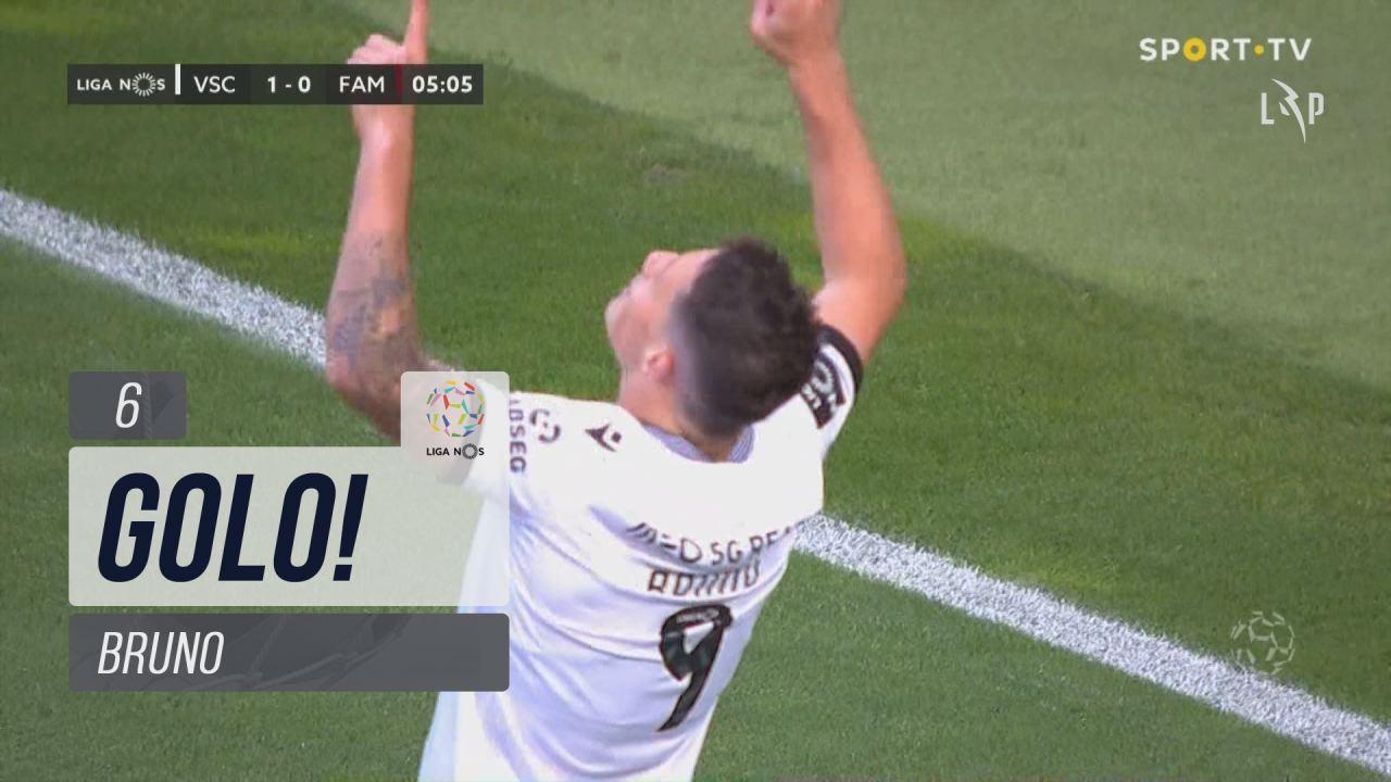 GOLO! Vitória SC, Bruno aos 6', Vitória SC 1-0 FC Famalicão