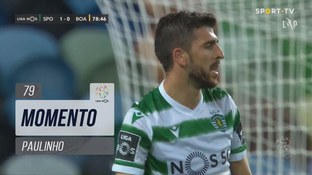 Sporting CP, Jogada, Paulinho aos 79'