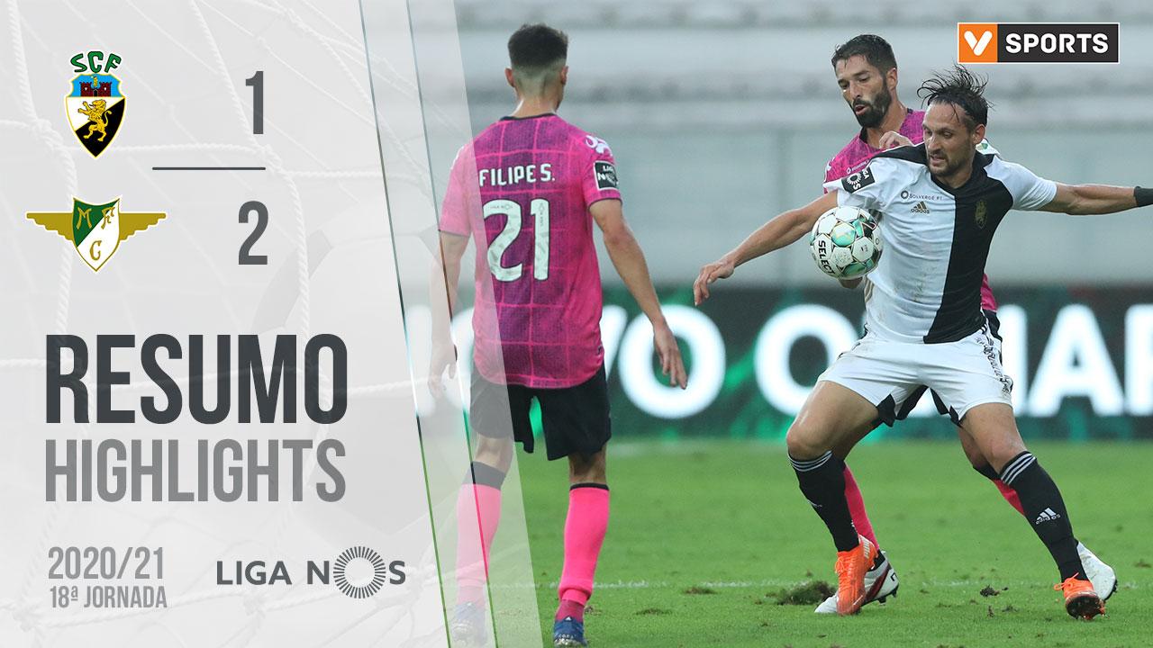 Liga NOS (18ªJ): Resumo SC Farense 1-2 Moreirense FC