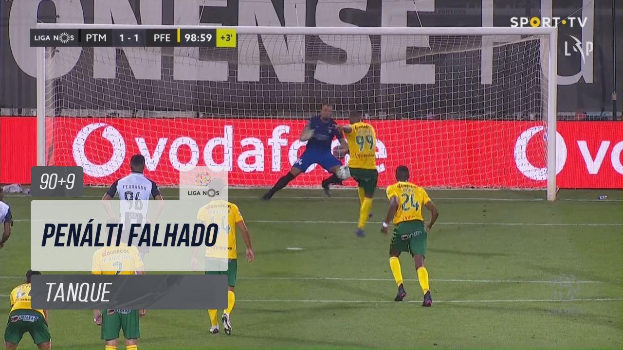 FC P.Ferreira, Jogada, Tanque aos 90'+9'