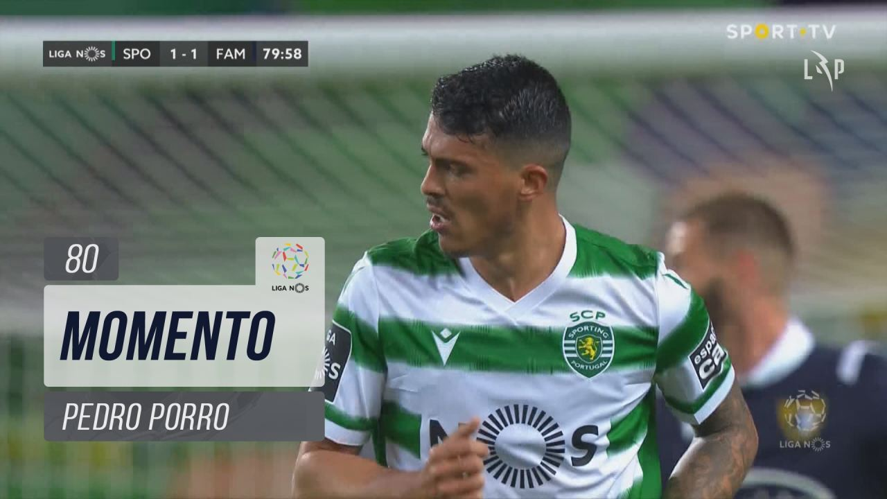 Sporting CP, Jogada, Pedro Porro aos 80'