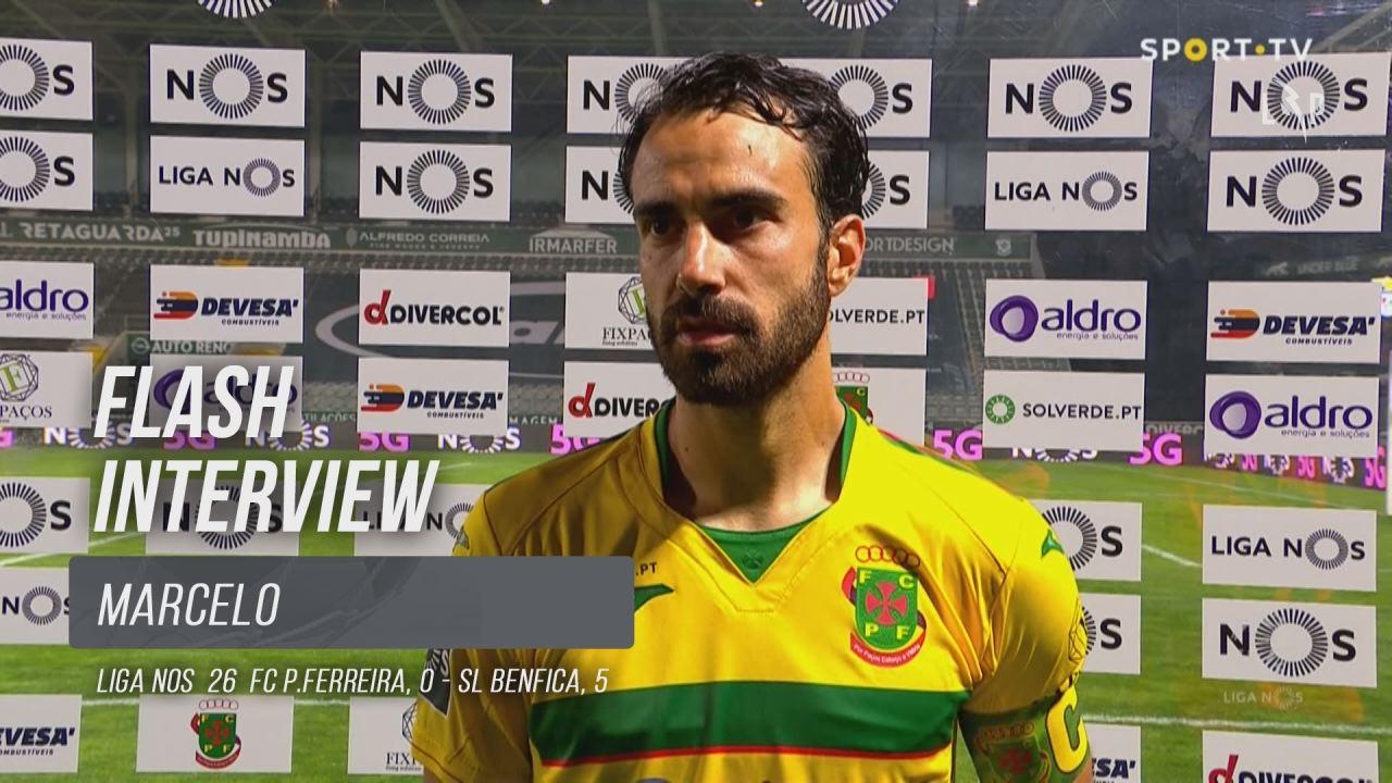 """Marcelo: """"Expulsão condicionou o jogo"""""""