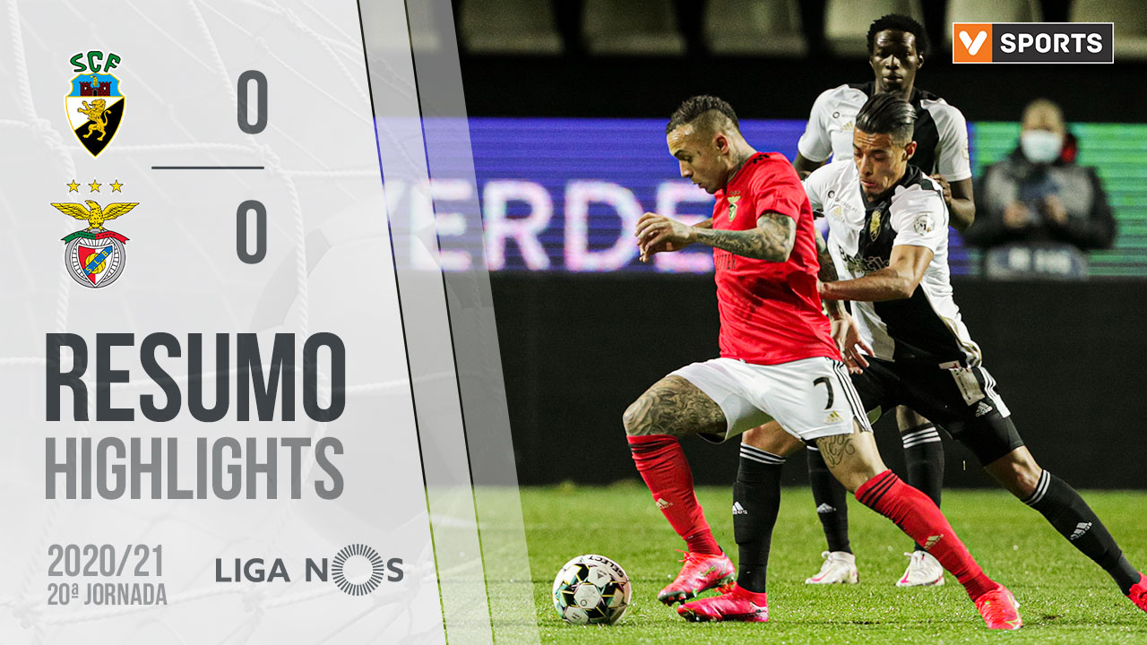 Liga NOS (20ªJ): Resumo SC Farense 0-0 SL Benfica