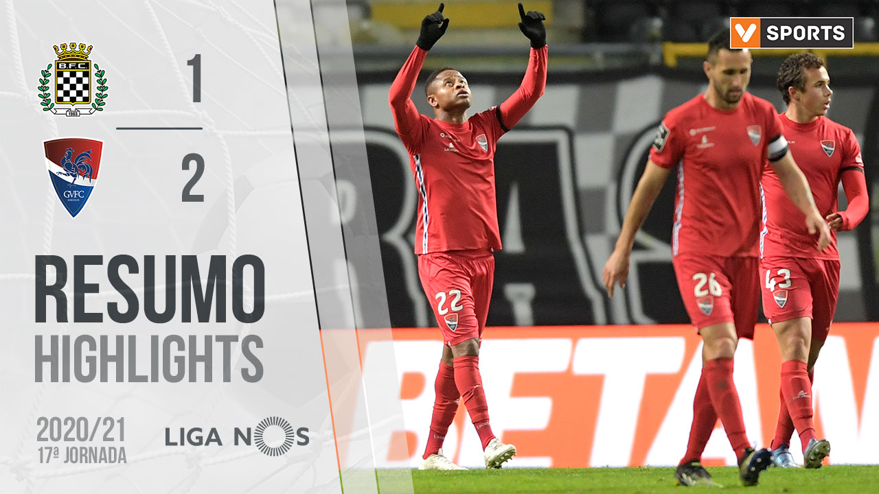 Liga NOS (17ªJ): Resumo Boavista FC 1-2 Gil Vicente FC