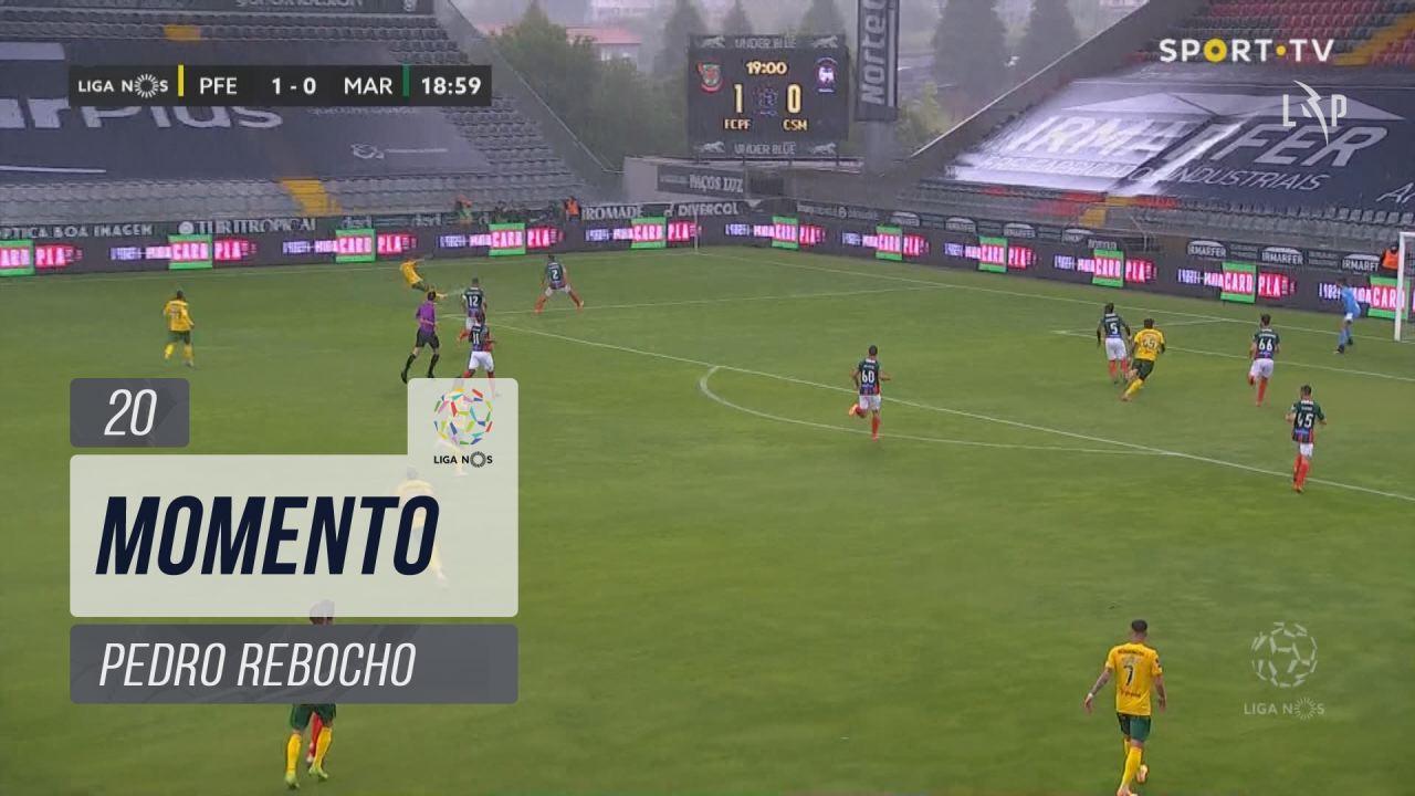 FC P.Ferreira, Jogada, Pedro Rebocho aos 20'