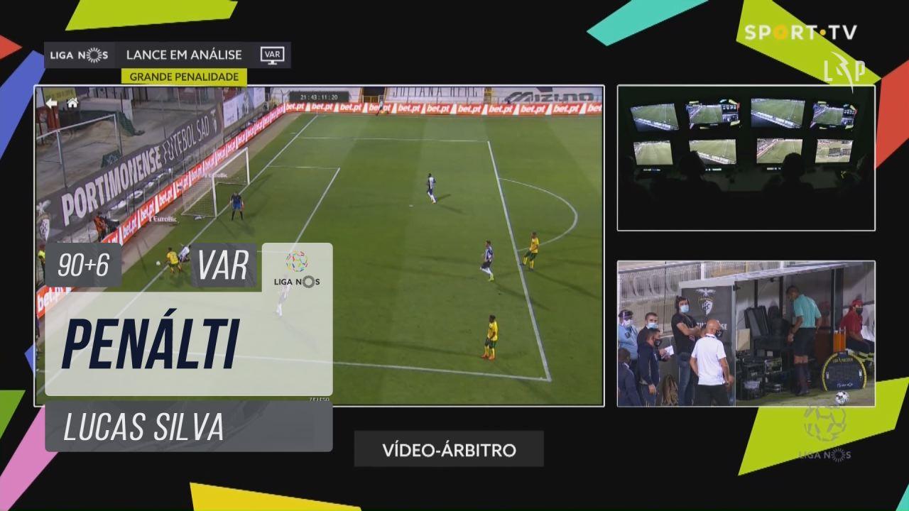 FC P.Ferreira, Penálti, Lucas Silva aos 90'+6'