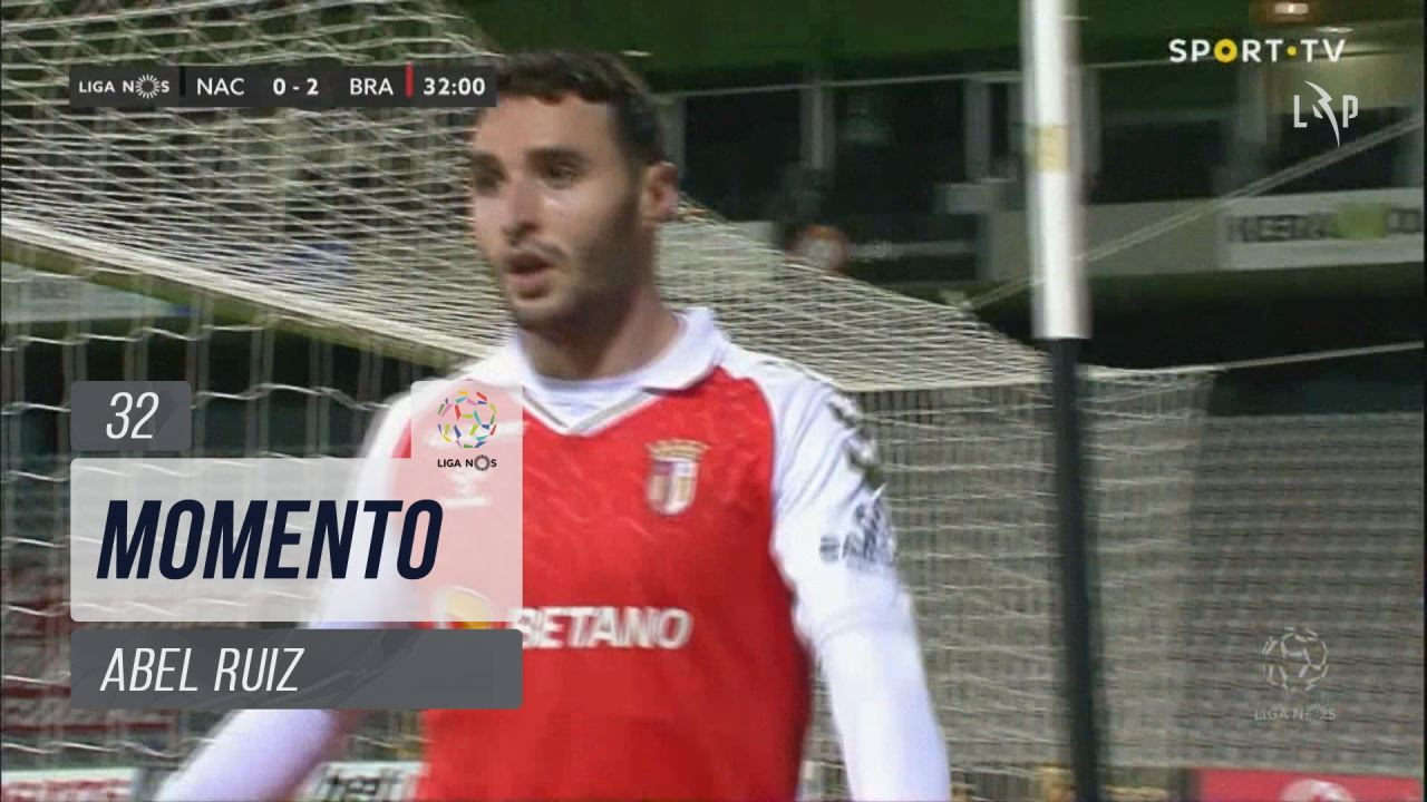 SC Braga, Jogada, Abel Ruiz aos 32'