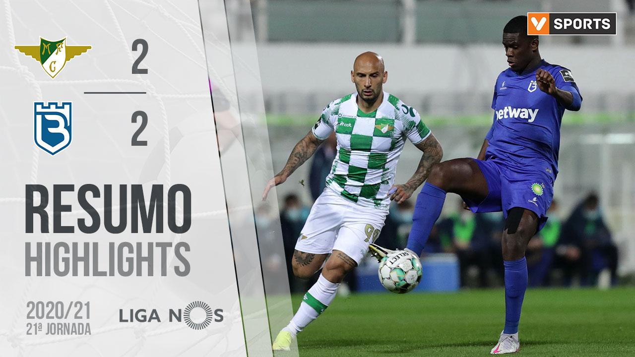 I Liga (21ªJ): Resumo Moreirense FC 2-2 Belenenses SAD