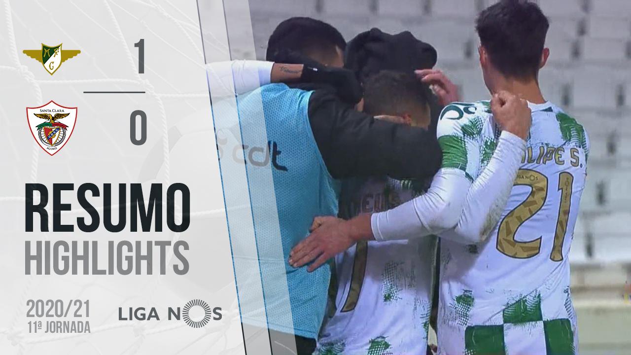 Liga NOS (11ªJ): Resumo Moreirense FC 1-0 Santa Clara