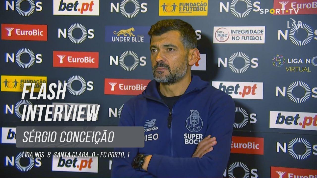 """Sérgio Conceição: """"A nossa prioridade é o campeonato"""""""