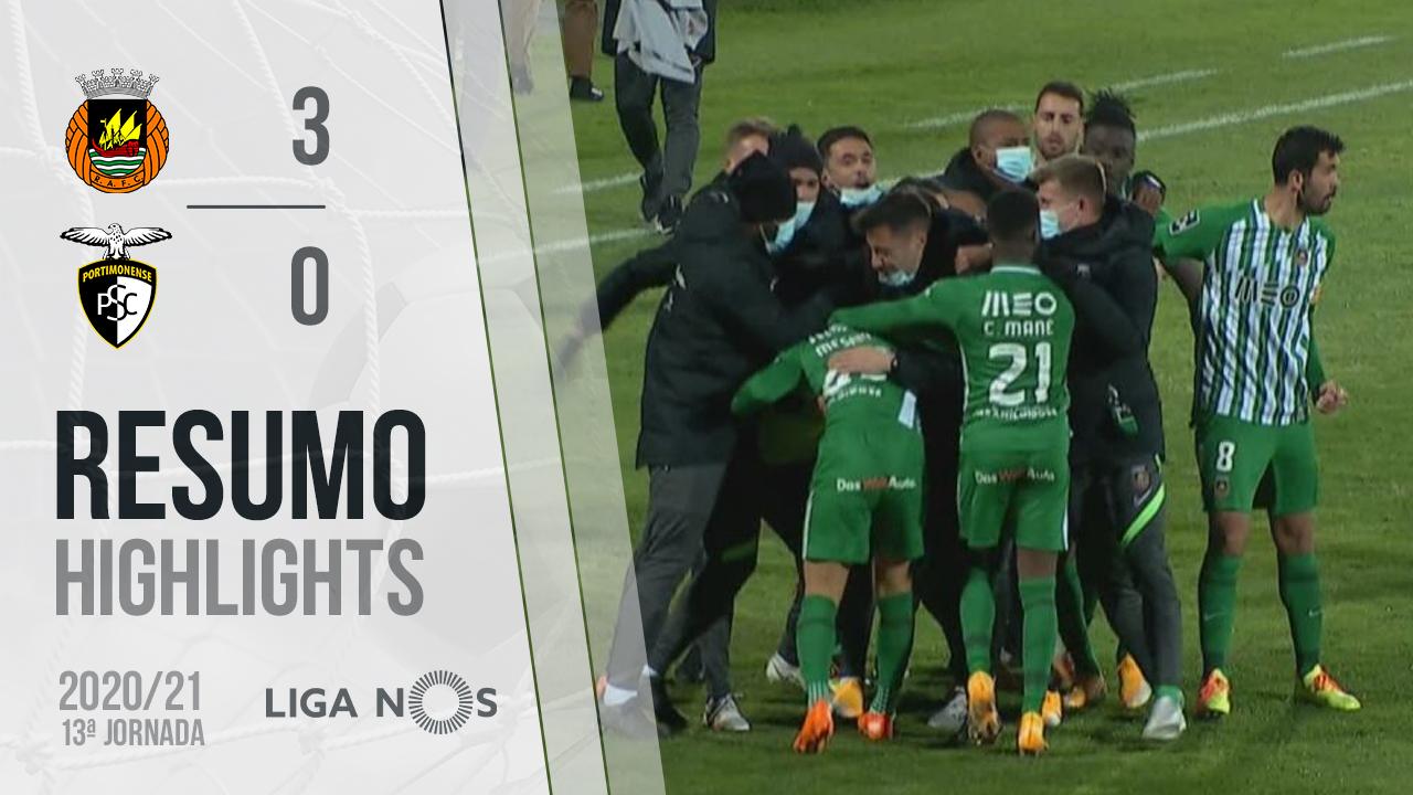 Liga NOS (13ªJ): Resumo Rio Ave FC 3-0 Portimonense