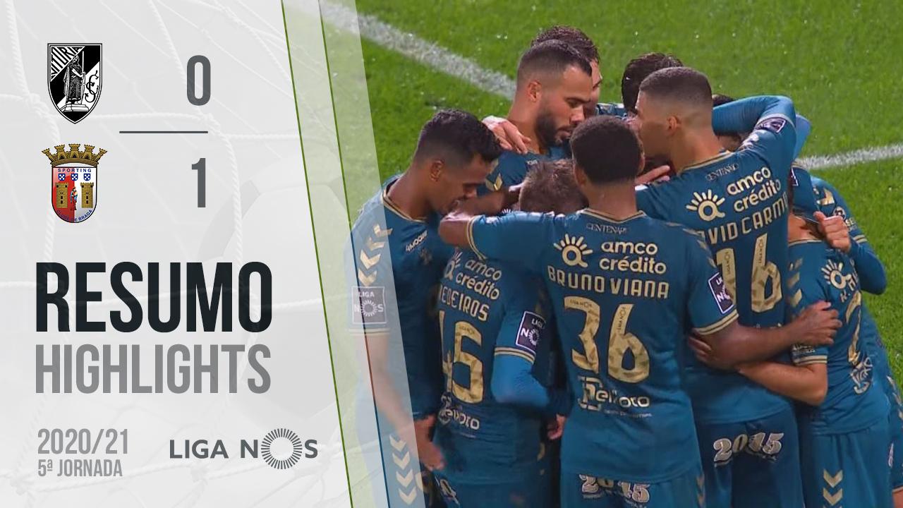 I Liga (5ªJ): Resumo Vitória SC 0-1 SC Braga