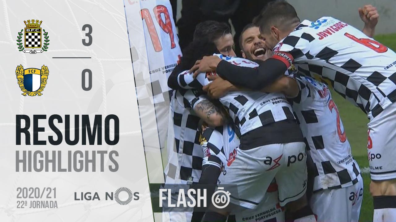 I Liga (22ªJ): Resumo Flash Boavista FC 3-0 FC Famalicão